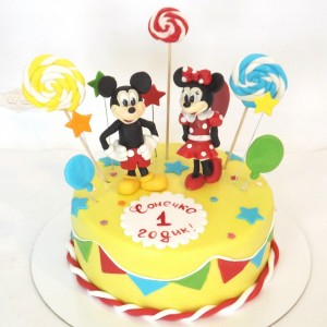 Торт «Микки»
