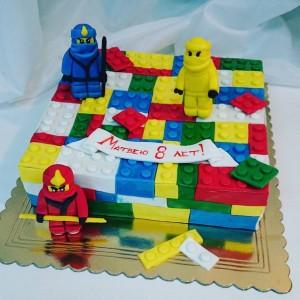 """Торт детский """"Лего"""""""