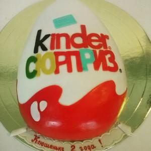 """Торт Детский """"Kinder сюрприз"""""""