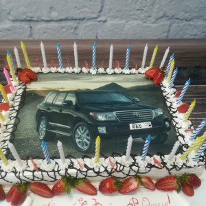 "Торт ""Джип"" Арт. 00301"