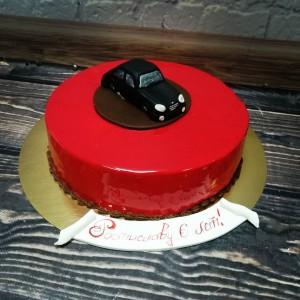 """Торт """"С красным гляссажем"""" Арт. 00318"""