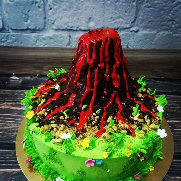 """Торт """"Извержение вулкана"""" Арт. 00324"""