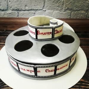 """Торт """"Кинокатушка"""" Арт. 00341"""