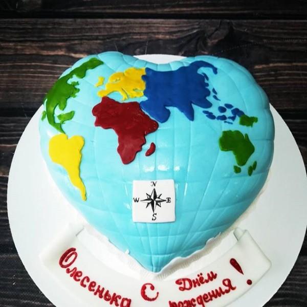 """Торт """"Наша планета"""" Арт. 00344"""