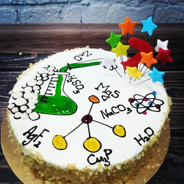 """Торт """"Для химика"""" Арт. 00346"""