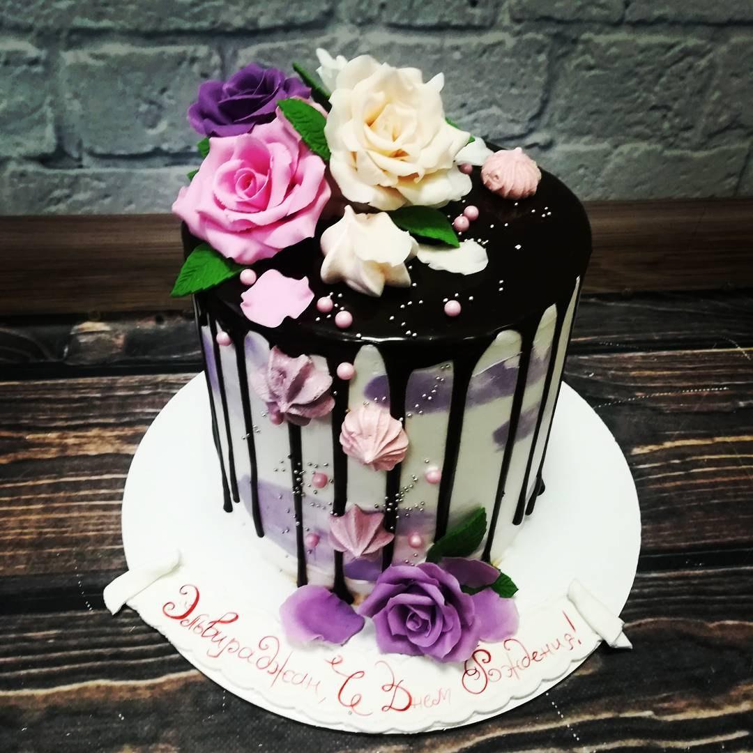 Как украсить торт цветами? «Мастер класс»