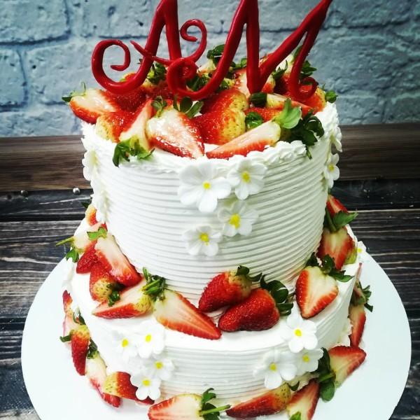 """Торт """"Свадебный торт"""" Арт. 00362"""