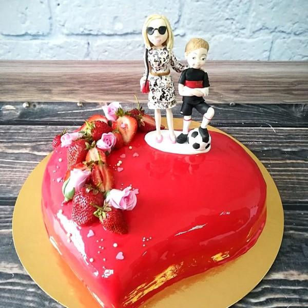 """Торт """"14 февраля"""" Арт. 00357"""