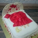 """Торт """"1 год совместной жизни"""" Арт. 00369"""