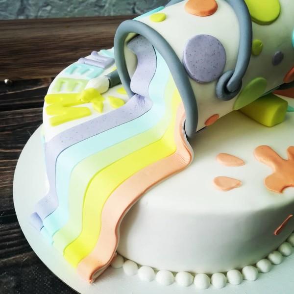"""Торт """"С юбилеем"""" Арт. 00432"""