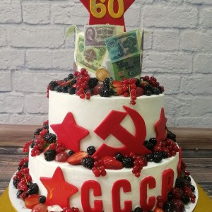 "Торт ""На юбилей для мамы"" Арт. 00452"