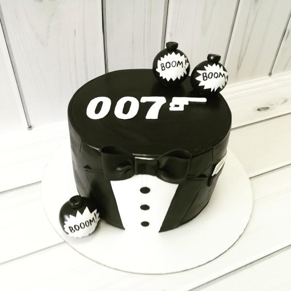 """Торт """"Джеймс Бонд"""" Арт. 00470"""