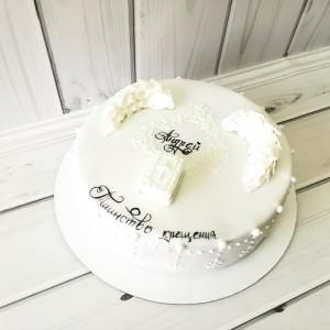 """Торт """"На крещение"""" Арт. 00488"""