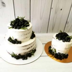 """Торт """"Свадебный торт и его сосед"""" Арт. 00483"""