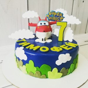 "Торт ""Super Wings"" Арт. 00484"