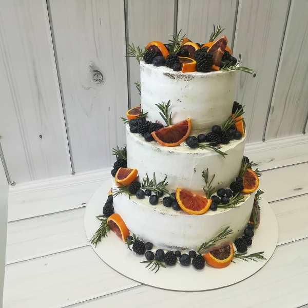 """Торт """"Свадебный Lukse"""" Арт. 00478"""