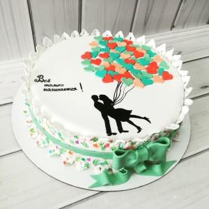 "Торт ""На ситцевую свадьбу"" Арт. 00506"