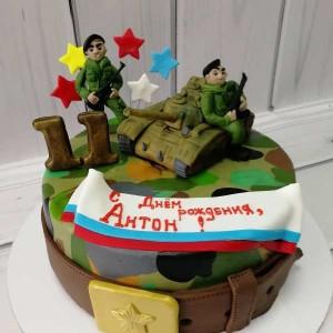 """Торт """"На 11 лет"""" Арт. 00510"""