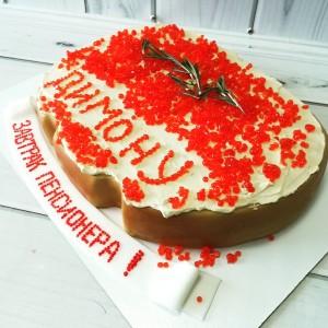 "Торт ""Бутерброд с икрой"" Арт. 00515"