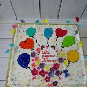 """Торт """"С днем рождения"""" Арт. 00513"""