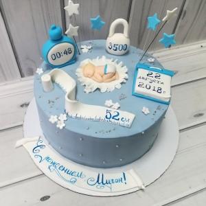 """Торт """"На рождение"""" Арт. 00517"""