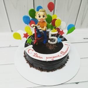 """Торт """"На 5 лет"""" Арт. 00549"""