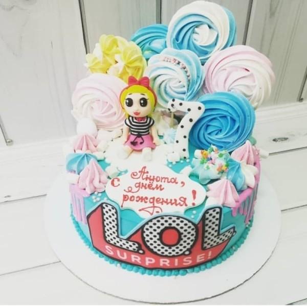 "Торт ""Кукла LOL"" Арт. 00551"