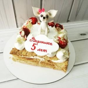 """Торт """"Для девочки"""" Арт. 00542"""