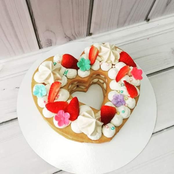 """Торт """"С открытыми песочными коржами"""" Арт. 00596"""