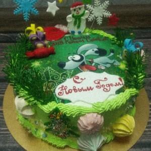 "Торт ""На новый год"" Арт. 00574"