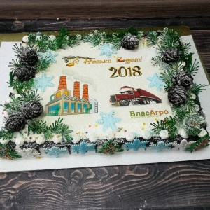 "Торт ""На новый год"" Арт. 00576"