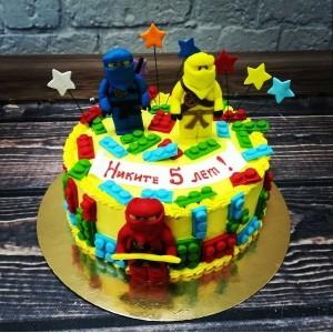"""Торт """" Лего Ниндзяго"""" Арт. 00614"""