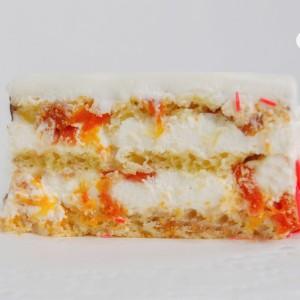 "Нежный торт ""Жар-птица"""