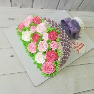 "Торт ""Букет из роз"" Арт. 00637"