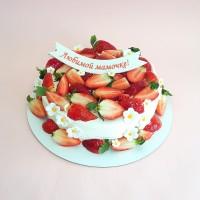 Торты со свежими ягодами и фруктами