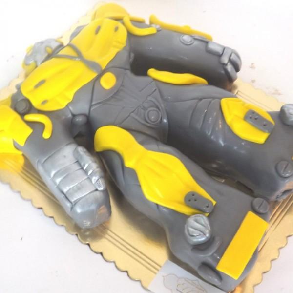 """Торт для мальчиков """"Робот-трансформер"""""""