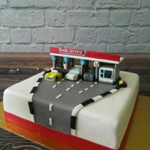 """Торт """"Автомойка"""""""