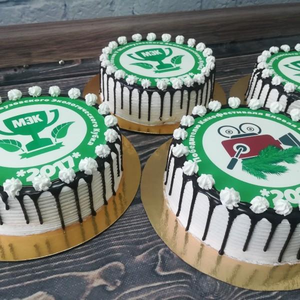 """Торт """"С логотипом"""" Арт. 00305"""