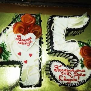 "Торт ""45 лет вместе"" Арт. 00323"