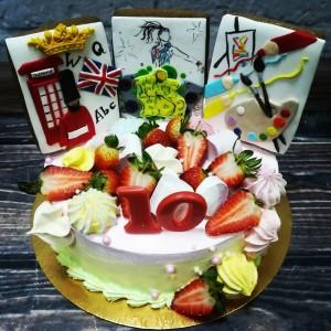 """Торт """"Творческий"""" Арт. 00340"""