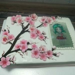 "Торт ""Японская сакура"" Арт. 00343"