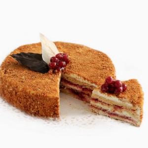 """Торт """"Австрийский с клюквой"""" Арт. 00338"""