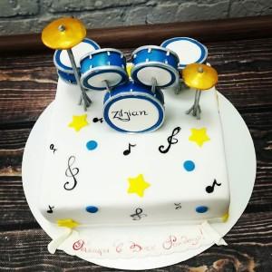 """Торт """"Музыкальный"""" Арт. 00347"""