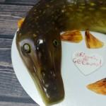 "Торт ""Зимняя рыбалка"" Арт. 00342"