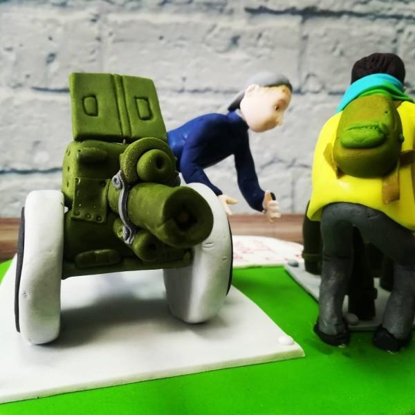 "Торт ""От боевой подруги"" Арт. 00352"
