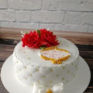 """Торт """"Волшебные розы"""" Арт. 00425"""