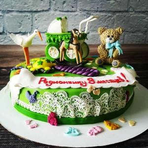 """Торт """"На 9 месяцев"""" Арт. 00450"""