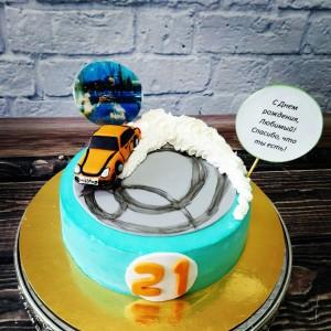 """Торт """"Для любимого мужчины"""" Арт. 00442"""