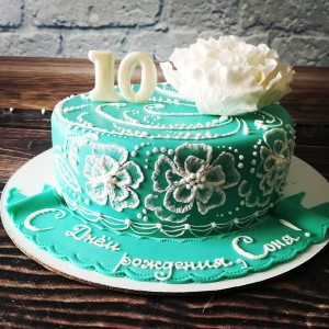 """Торт """"Роскошный пион"""" Арт. 00455"""