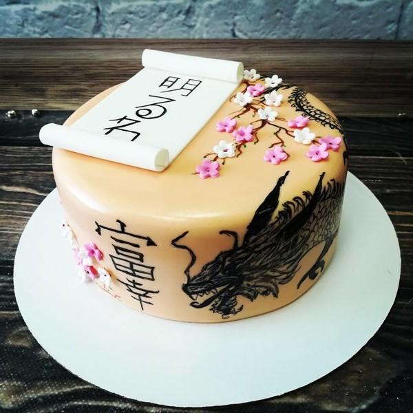 """Торт """"В Японской тематике"""" Арт. 00457"""